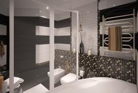заказать интерьер ванной комнаты