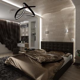Спальня 23 кв.м