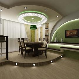 Двухкомнатная квартира 82 кв. м  на ул. Пушкина