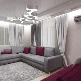 Трёхкомнатная квартира Ж.К. Симфония 106 кв.м