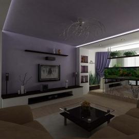 заказать дизайн интерьера гостиной