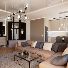 двухкомнатная квартира в Ж.К. Фаворит 70,5 кв.м. на Мира