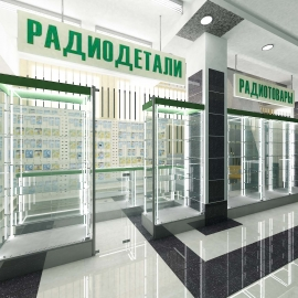 Дизайн интерьера магазина в Пензе
