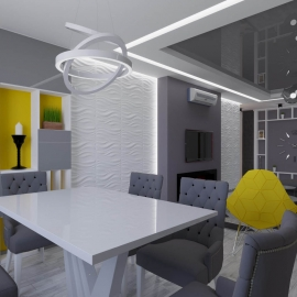 трёхкомнатная квартира в Ж.К. Фаворит 110 кв.м