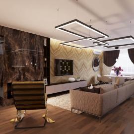 трёхкомнатная квартира в Ж.К. Фаворит 111 кв.м