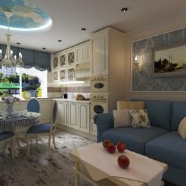 Трёхкомнатная квартира 110 кв. м на ул. Чкалова