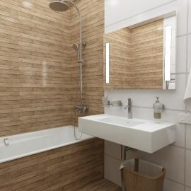 Трёхкомнатная квартира 110 кв. м в ЖК Вертикаль