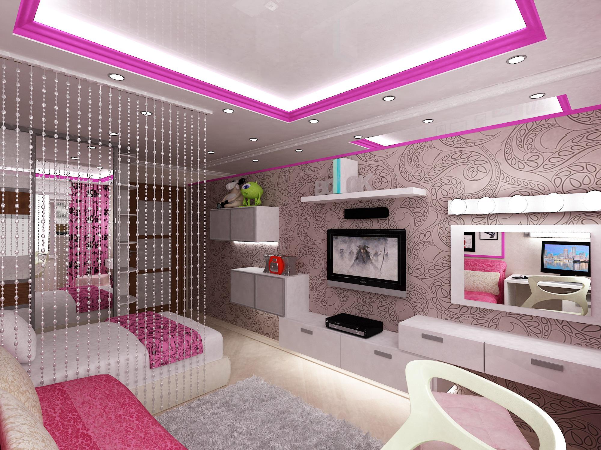 Фото дизайн комнаты девушки подростка
