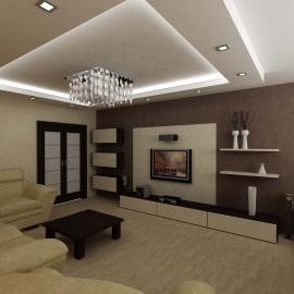 красивые дизайны гостинных