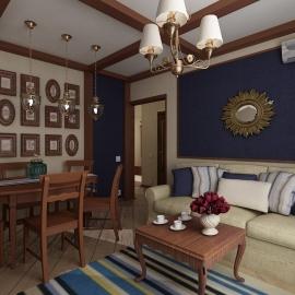 Трёхкомнатная квартира в Спутнике 120 кв. м