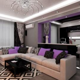 Двухкомнатная квартира 64 кв.м. на Тамбовской