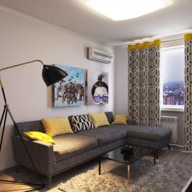 Двухкомнатная квартира 42 кв.м. на ул. Плеханова