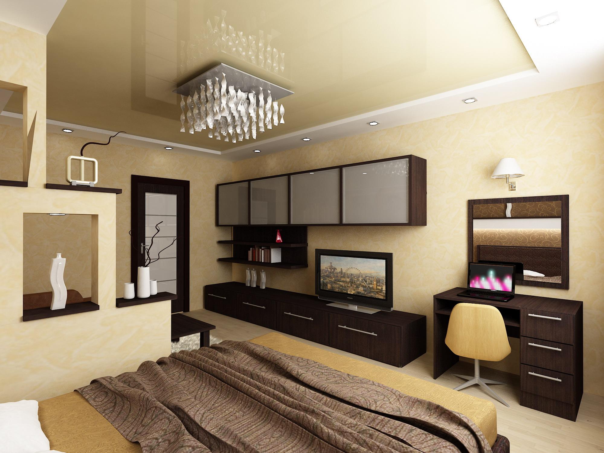 Дизайн гостиной 23 кв м фото