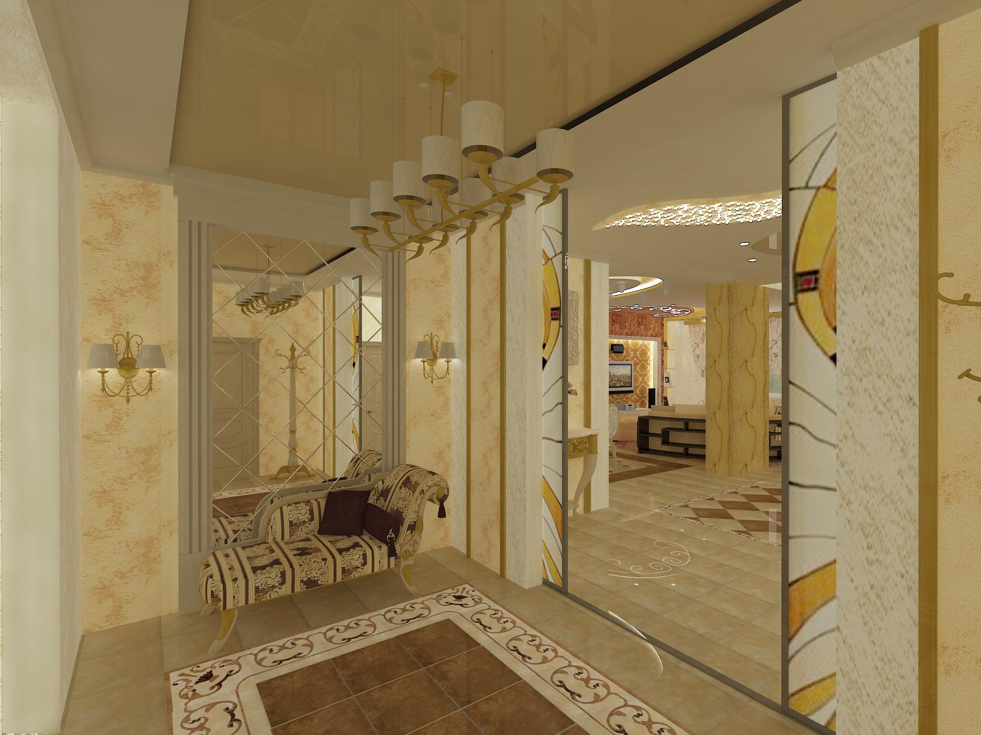 Дизайн кухня 16 м