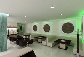 дизайн интерьера кафе в Заречном
