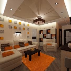 Трёхкомнатная квартира 102 кв. м на ул. Карпинского