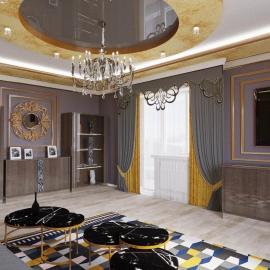 трёхкомнатная квартира 120 кв.м. в Ж.К. Прелестный