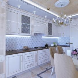 трёхкомнатная квартира на Плеханова 14, Ж.К. Фаворит